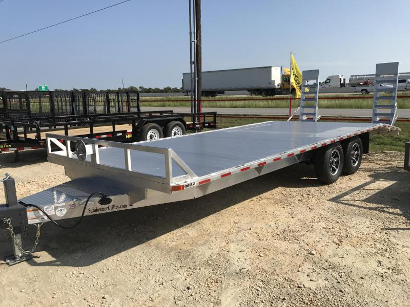 2018 Sundowner Trailers 9622MPBP Car / Racing Trailer