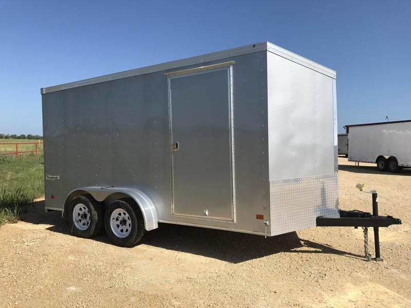 2017 Haulmark TSTV7X14ET2 Enclosed Cargo Trailer