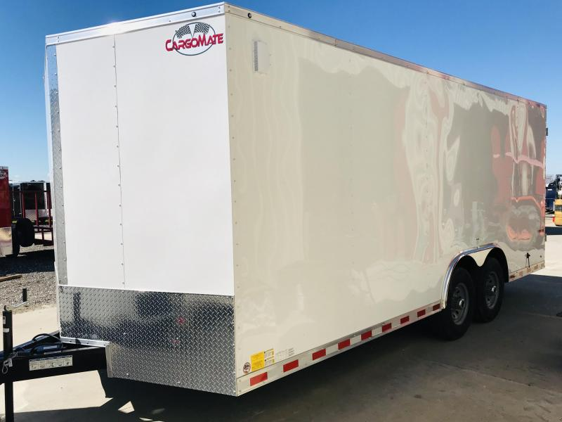 2019 Cargo Mate TXEHW8.20TA5 Enclosed Cargo Trailer
