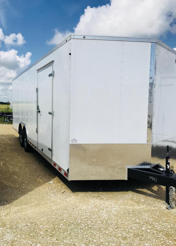 2019 Car Mate Trailers TSEHW8.524TA5 Enclosed Cargo Trailer
