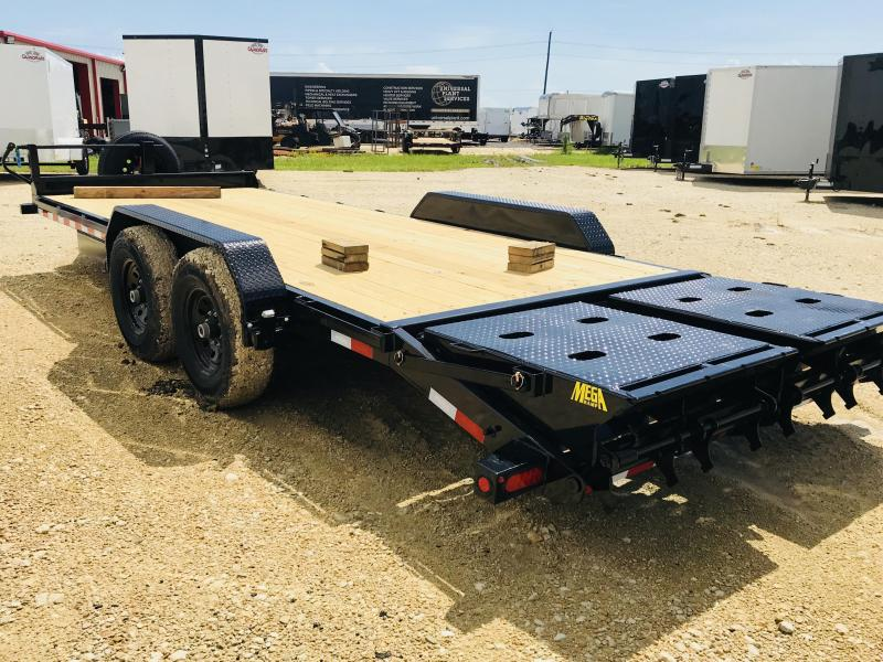 2019 Big Tex Trailers 14ET-20BK-MR Flatbed Trailer