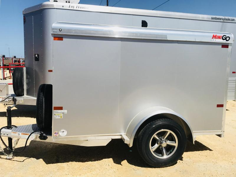 2018 Sundowner Trailers Mini Go Enclosed Cargo Trailer