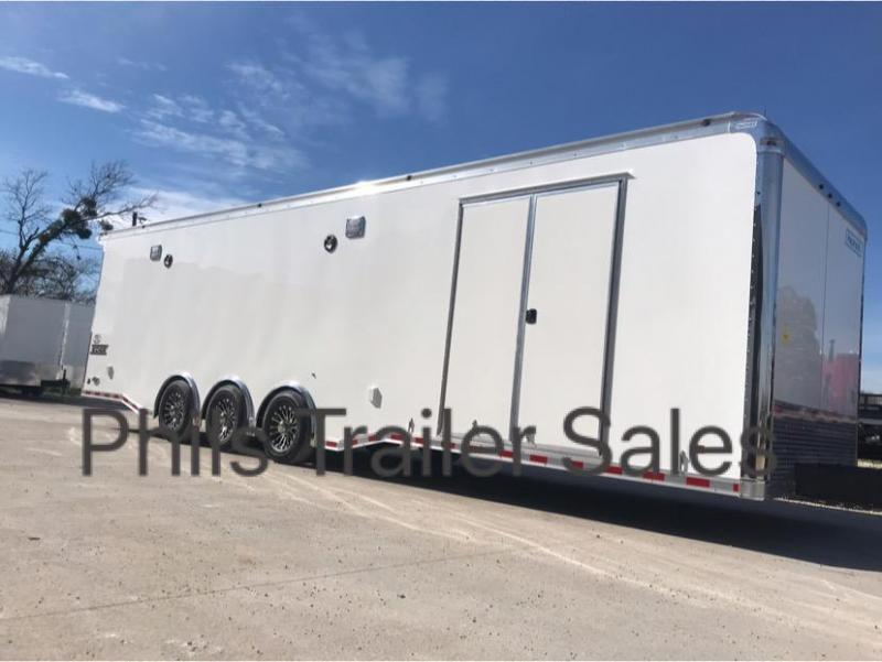 2019 BATHROOM HAULMARK EDGE PRO Car / Racing Trailer