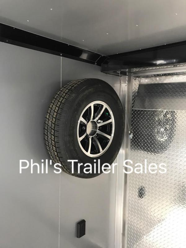 24 ALL ALUMINUM 7 ft Escape door Car / Racing Trailer
