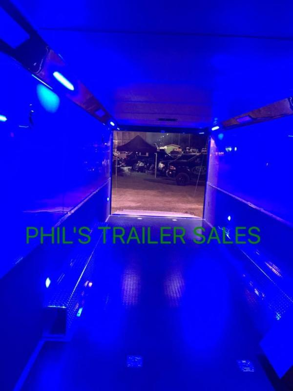 34' BATHROOM / SHOWER TRAILER  AUTO MASTER Car / Racing Trailer enclosed trailer