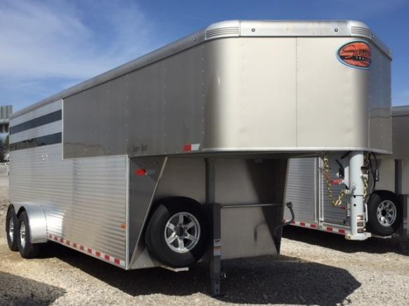 2019 Sundowner Trailers Super Sport GN Horse Trailer