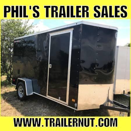 2018  WELLS CARGO 6X12 SA Enclosed Cargo Trailer