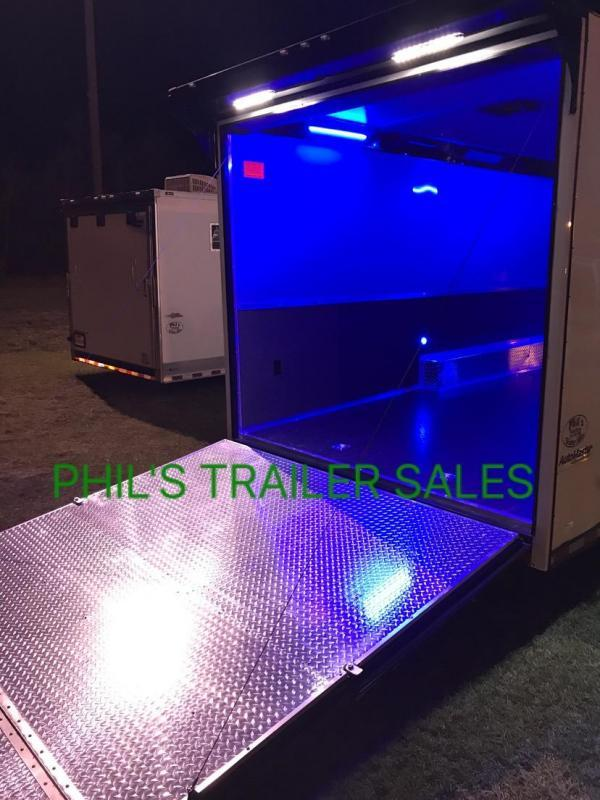 34 Continental Cargo ROAD SIDE CABINETS  AUTOMASTER Car / Racing Trailer