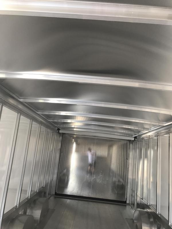2018 32' Sundowner Commercial Grade  Gooseneck Aluminum  Cargo / Enclosed Trailer