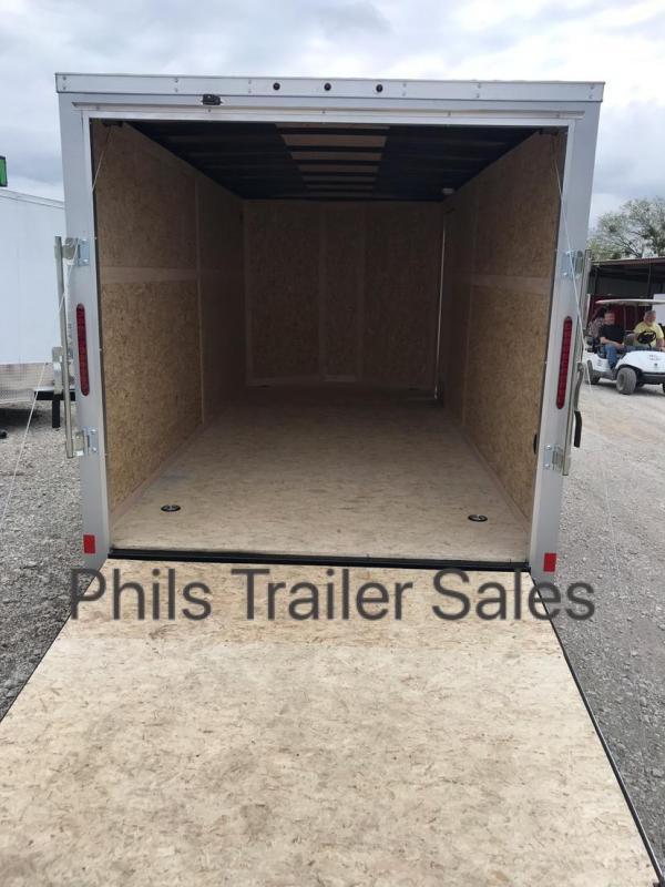 Wells Cargo 7x16 + v  7FT  INTERIOR HT