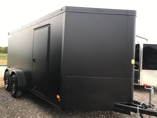 Haulmark 7x12  V nose low hauler Motorcycle Trailer enclosed trailer