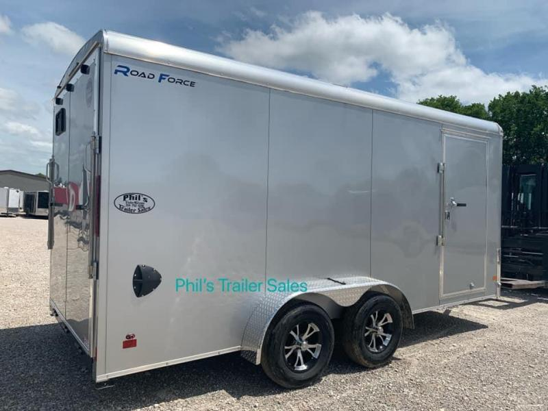2019 Wells Cargo WELLS CARGO 7X16 ROADFORCE ENCLOSED TRAILER Enclosed Cargo Trailer