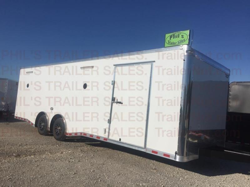 28 Continental Cargo enclosed xtra ht   Car / Racing Trailer