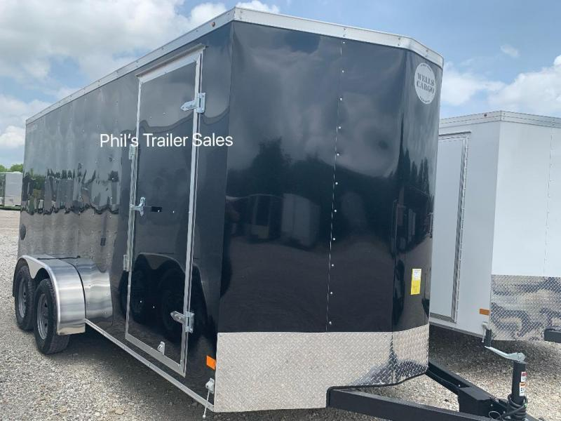 2019 Wells Cargo 7x16 + v  FT INTERIOR HT