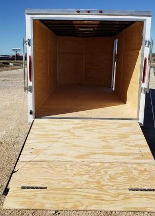 7x16 + 2  7 ft interior ht  EXTRA HT  Enclosed Trailer Enclosed Cargo Trailer
