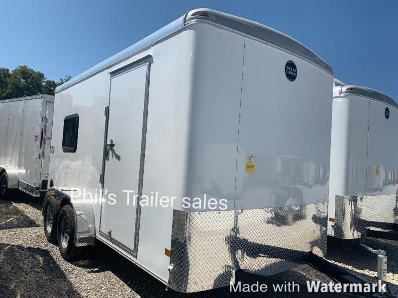 2019 Wells Cargo 7X14 OFFICE TRAILER job site Enclosed Cargo Trailer
