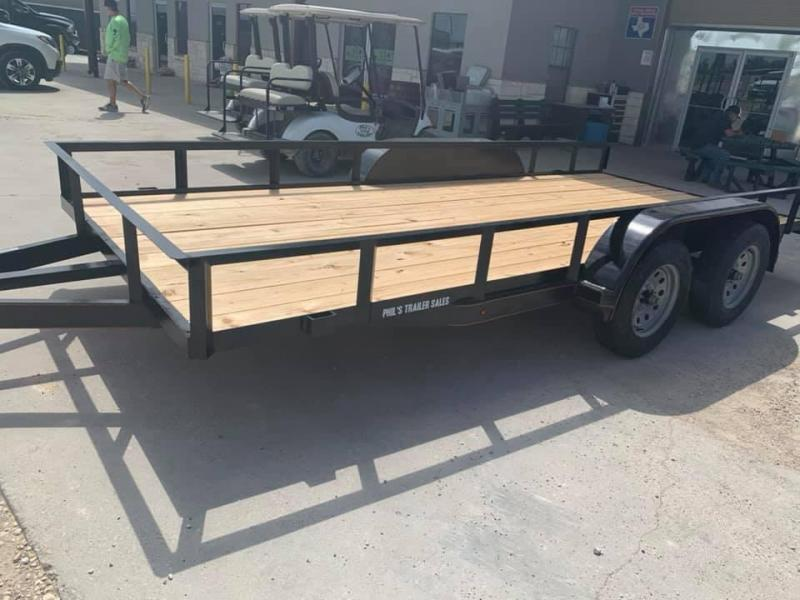 Texas Select 16 FT UTILITY WITH UPGRADES Utility Trailer