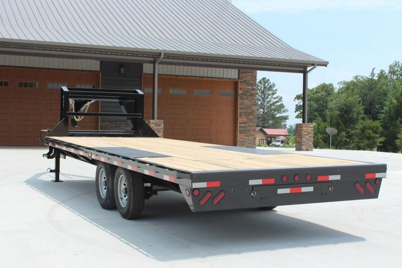 24 Gooseneck Over the Wheel Iron Bull Iron Bull Equipment Trailer