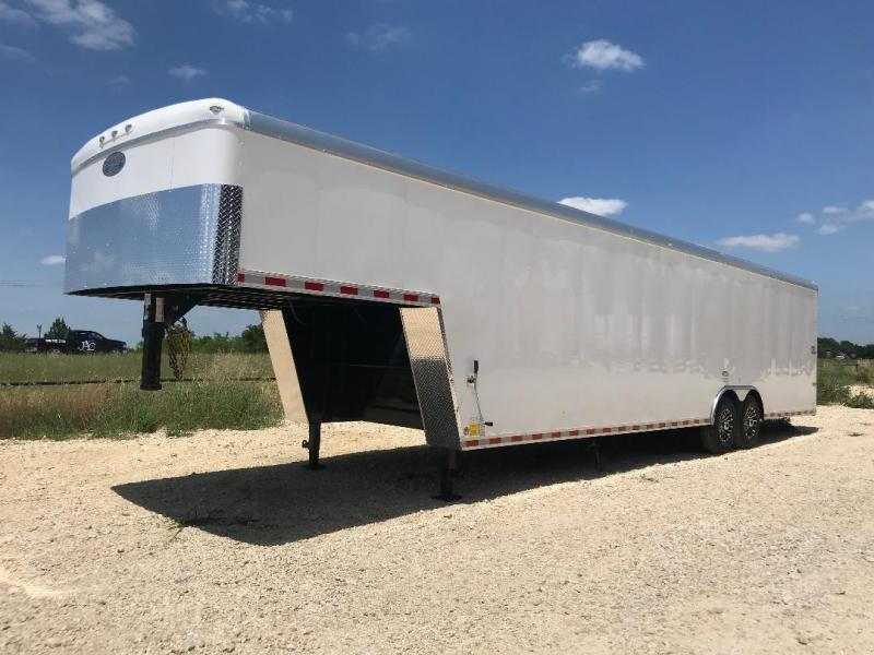 2019 Continental Cargo GOOSENECK Enclosed Cargo Trailer