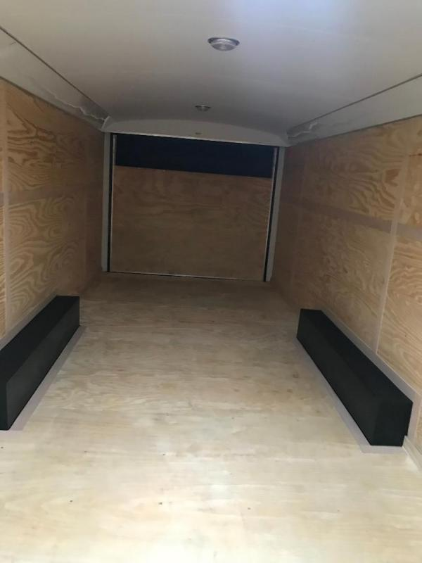 Continental Cargo GOOSENECK Enclosed Cargo Trailer ENCLOSED TRAILER