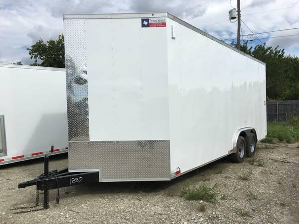 Texas Select 8.5x24 3 v nose 7 interior ht with extras