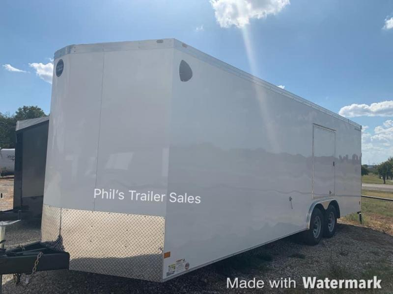 "20'  Wells Cargo ROAD FORCE 7' 6""  INTERIOR HT  WITH ESCAPE DOOR Enclosed Cargo Trailer"