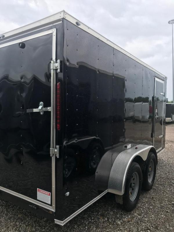 "Texas Select 7x16 2 v nose 6'6"" interior Enclosed Cargo Trailer"