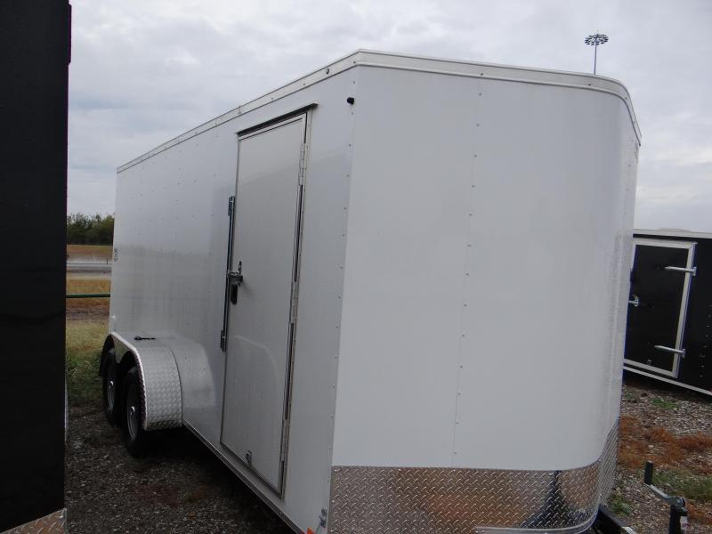 "7x16 Continental Cargo 6'6 "" RAMP Cargo / Enclosed Trailer"