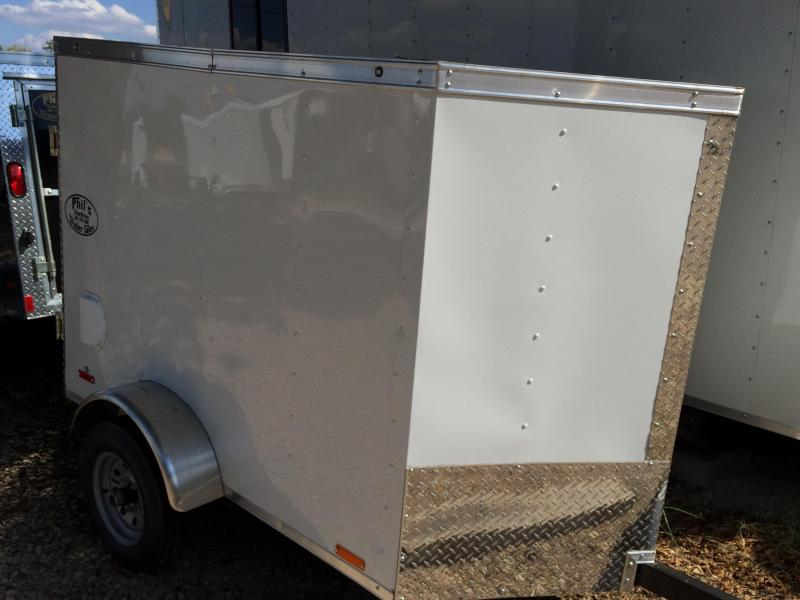 Continental Cargo Vhw 4x6  enclosed trailer Cargo / Enclosed Trailer