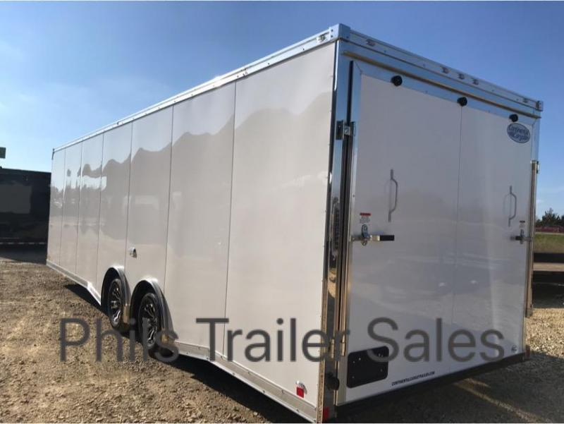 2019 28' COMMERCIAL GRADE Continental Cargo NOS Car / Racing Trailer