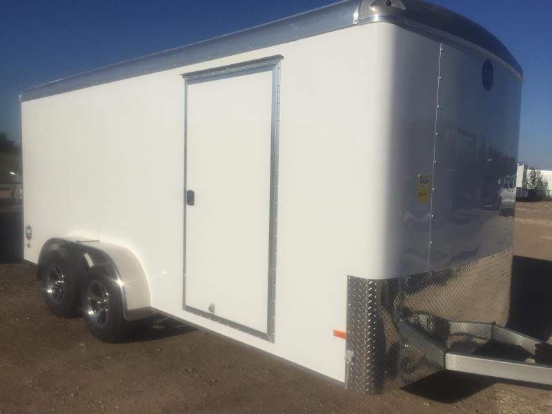 Wells Cargo 7x16 7ft screw less Road force Enclosed Cargo Trailer