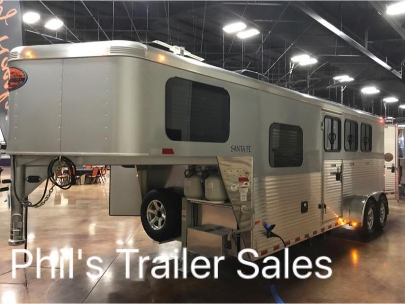 2018 3 horse living quarters sundowner trailers santa fe horse 2018 3 horse living quarters sundowner trailers santa fe horse trailer asfbconference2016 Gallery