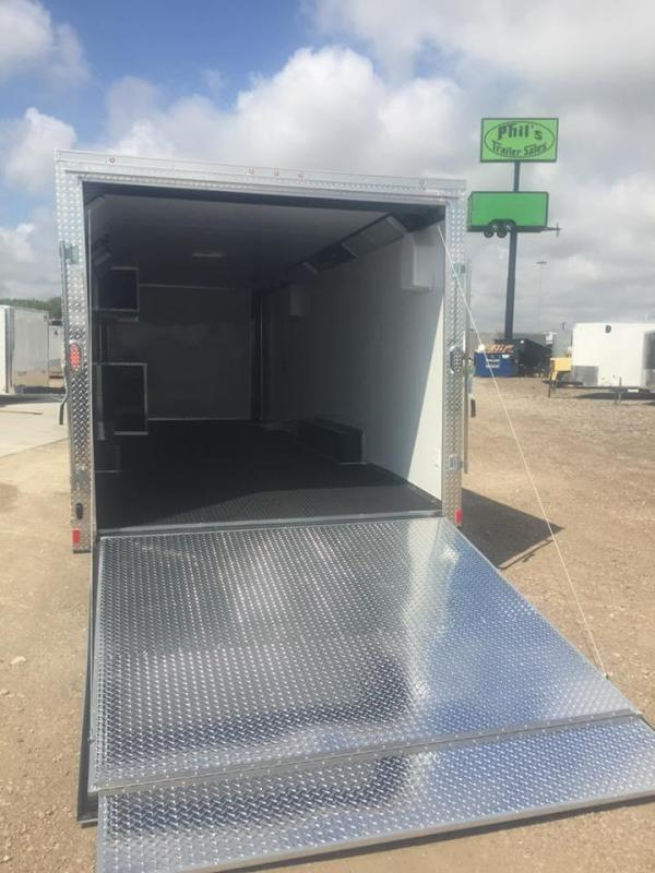2018 Continental Cargo 28 ENCLOSED RACE TRAILER Enclosed Cargo Trailer