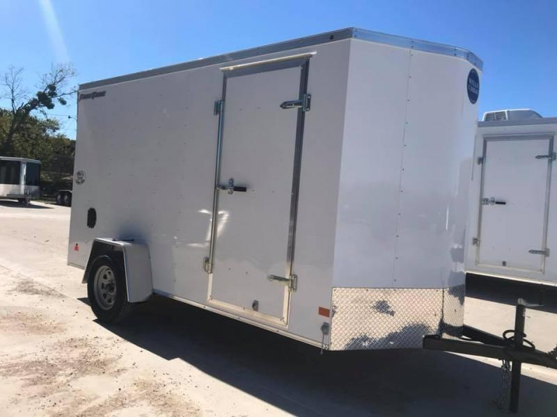 "2019 Wells Cargo 6X10 6'6"" FAST TRACK Enclosed Cargo Trailer"