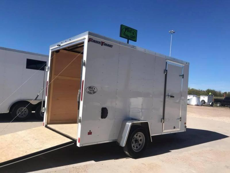 "2019 Wells Cargo 6X10 6'6"" FAST TRACK Enclosed Cargo Trailer"