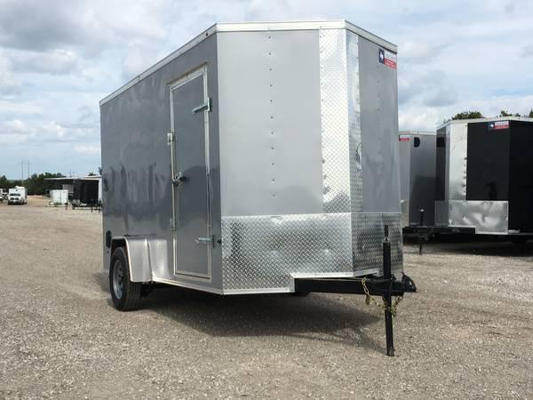 "2018 6x12+ 2 6"" extra ht Texas Select Enclosed trailer Cargo / Enclosed Trailer"