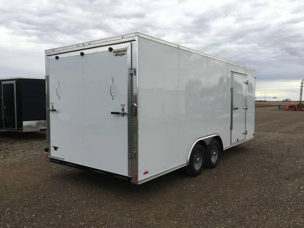 Continental Cargo Value Hauler Wedge 8 5 x 20 v nose Ramp Door