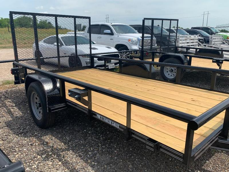 2019 Tiger 6X12 PIPE TOP RAMP TRAILER Utility Trailer