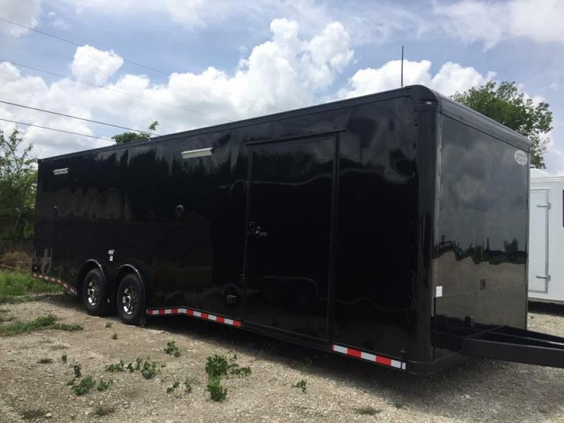 28 Continental Cargo Black out extra ht  Car / Racing Trailer