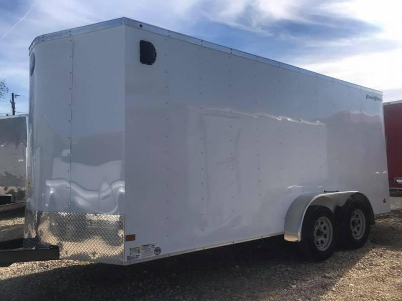 """Wells Cargo 7x16 + v 6"""" extra ht Enclosed trailer Fast Track Cargo / Enclosed Trailer"""