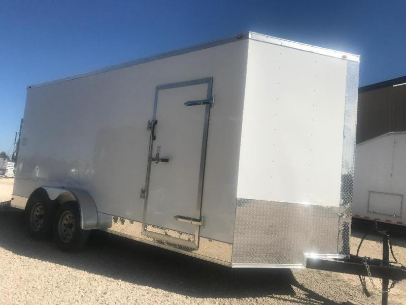 2018 7x14+ 2  7 ft interior ht  EXTRA HT  Enclosed Trailer Enclosed Cargo Trailer