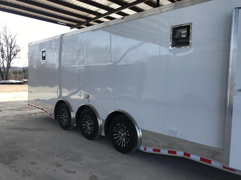 2018 32' Triple Continental Cargo AutoMaster RACE  Car / Racing Trailer