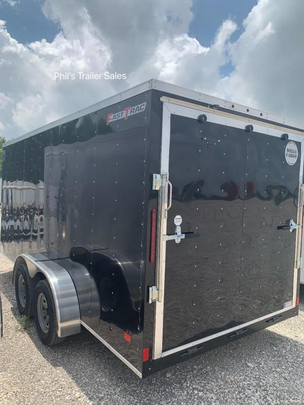 2019 Wells Cargo 7x16 + v 6' 6
