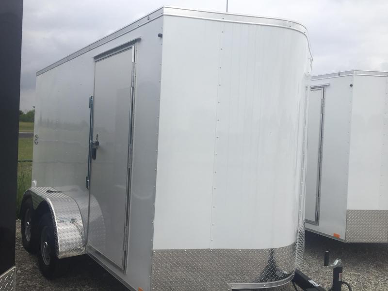 6x12 tandem Torsion axles  7 interior Continental Cargo Enclosed trailer* cargo Cargo / Enclosed Trailer