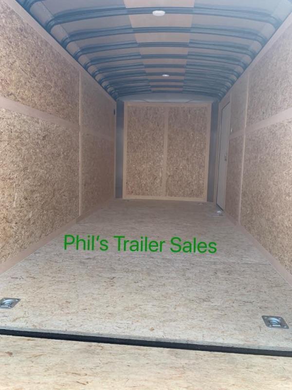 Wells Cargo 7x16 TORSION AXLES screw less  Road force Enclosed Cargo Trailer