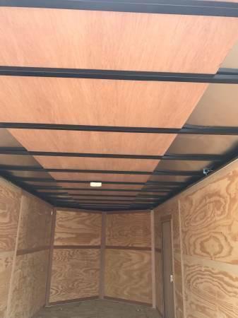 "2018 Texas Select 7x14 + 2 v 6'6"" Enclosed trailer Cargo / Enclosed Trailer"