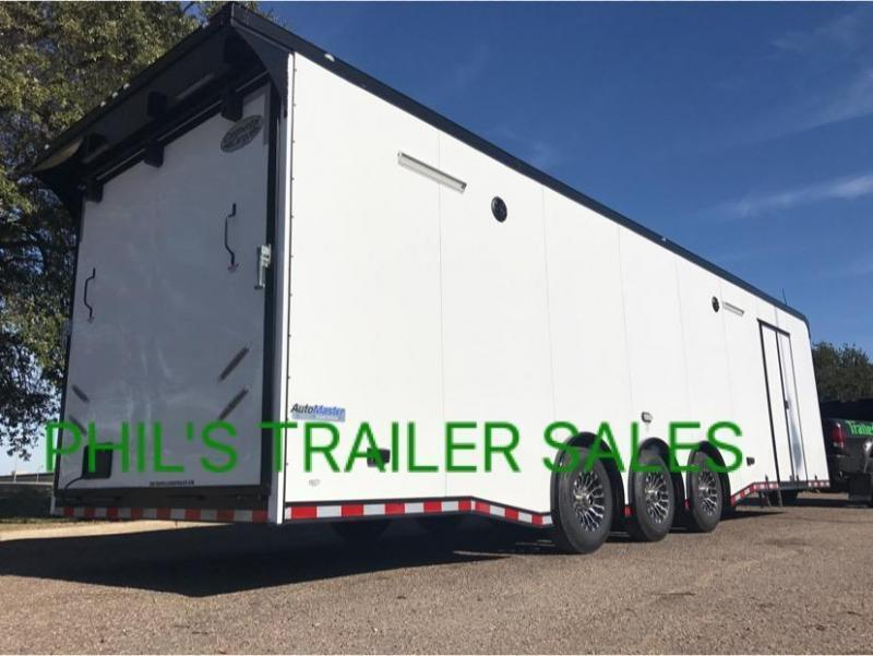 34 Continental Cargo CABINETS DOWN WALL AUTOMASTER Car / Racing Trailer