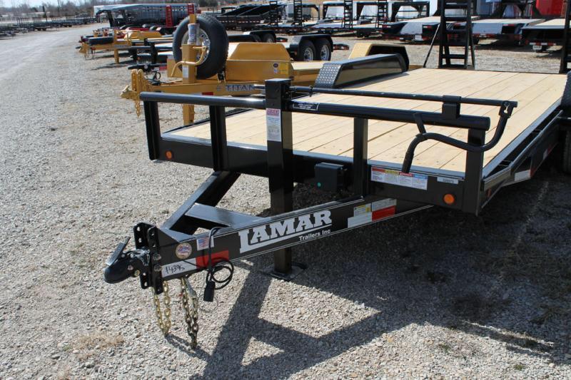 2018 Lamar Trailers 83x20 fold up ramps  Equipment trailer Equipment Trailer