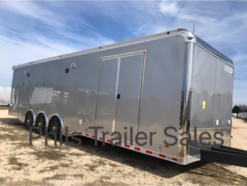 2019 Haulmark EDGE PRO Car / Racing Trailer SILVER