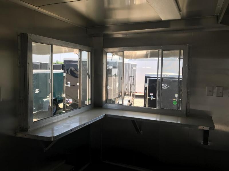 2018 Texas Select 8X14 CONCESSION TRAILER Vending / Concession Trailer